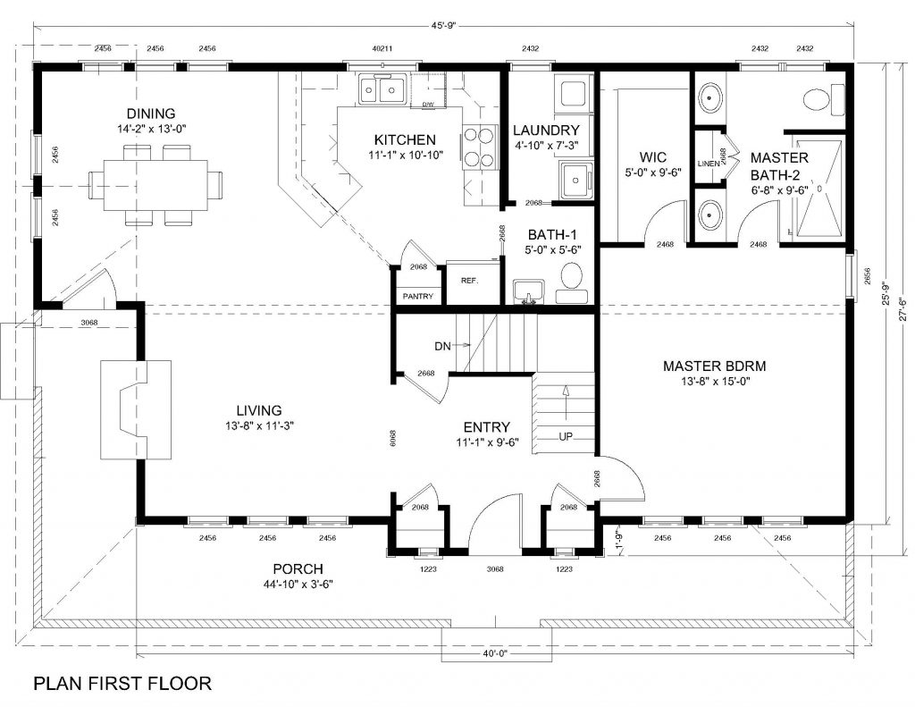 The easton huntington homes for First floor master bedroom home plans